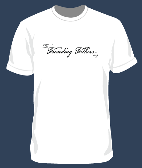 T-Shirt - White with FF Logo